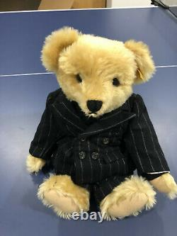 Steiff Ralph Lauren Polo The Producer Limited Edition Teddy Bear Great Cond