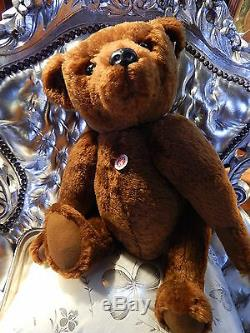 Steiff Rare 1902 Replica Ltd Ed Bear PB 55 Exclusive Edition 55cm