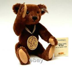 Steiff Teddy Bear 1999 Margarette Steiff Museum Limited Edition MOHAIR VTG RARE