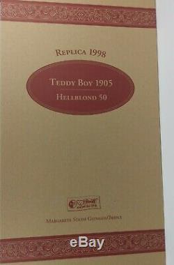 Steiff Teddy Boy Bear Limited Edition Replica of 1905 Squeaker Bear, Boxed