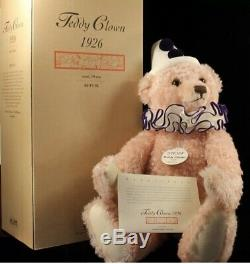 Steiff Teddy Clown 1926 Limited Edition Replica Bear 70cm Boxed With Certificate