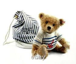 Steiff Will Teddy Bear Ean 035807 Cinnamon Mohair Limited Edition Sailor Bear