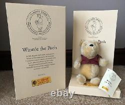 Steiff Winnie The Pooh Limited Edition 75th Anniversary 2001 (18cm)