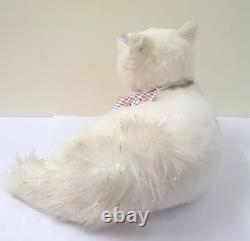 Steiff Winter Fox Alpaca with Swarovski Crystal Pendant Limited Edition 006661