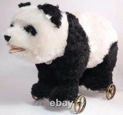 Steiff bearsPanda on Wheels1938 Limited Edition Bear 50cmEan400452