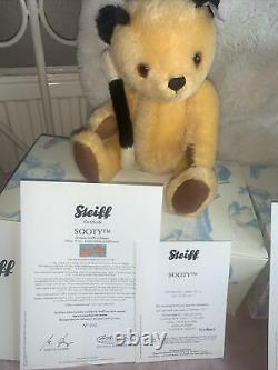Steiff bears limited edition Sweep & Sooty NWCOA & Boxed Immaculate
