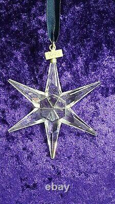 Swarovski Crystal 1993 Christmas Star / Ornament. Limited edition / retired