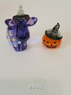 Swarovski LoveLots Magic Mo Cow withPumpkin 2012 Limited Edition 1139968 RETIRED