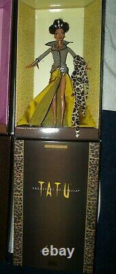 TATU Treasures Of Africa Barbie by Byron Lars 2003 Limited Edition