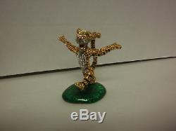 Tigger Disney Arribas Bros Crystals Limited Edition Retired 14012004