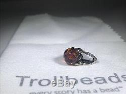 Trollbeads Limited Edition Summer Butterfly Bead 00209 Retired Rare Ooak