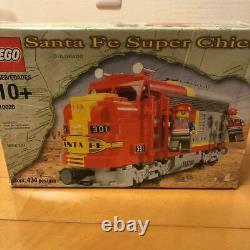 USED Santa Fe Super Train Lego 10020 Chief Limited Edition Retired japan