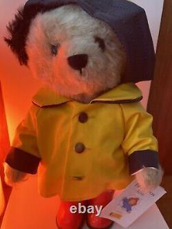 Very Rare Boxed Steiff Paddington Rainy days Limited Edition 354311. BNIB. NOS