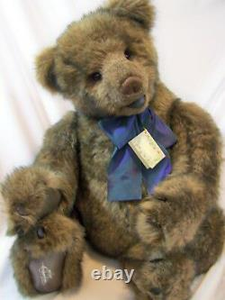 Vintage Gund 1995 Limited Edition Jointed 33 Raiffe GULLIVER Signature Bear