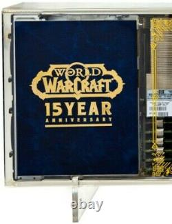 WoW 15th Anniversary NEWLY PACKAGED Retired Server Blade Limited Edition FROM US